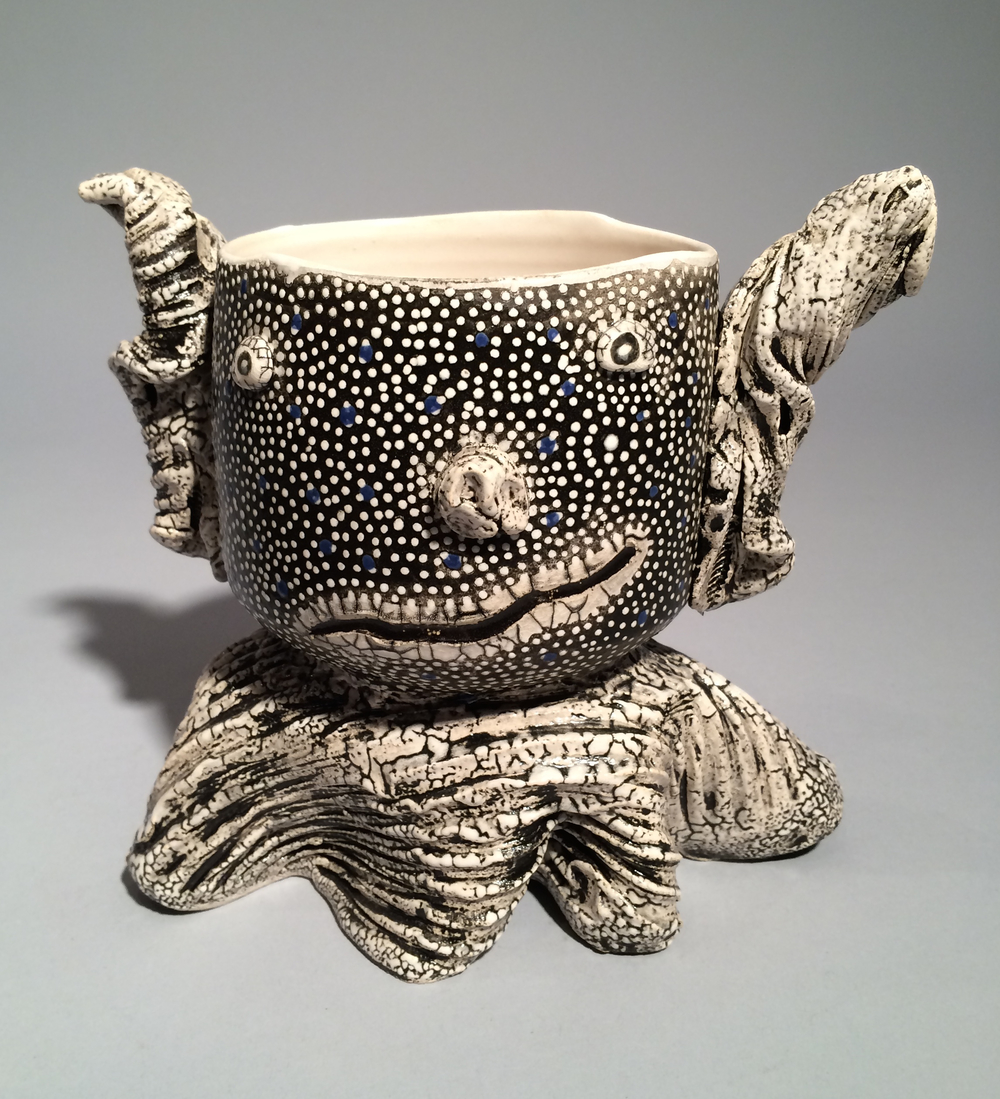 Andy Nasisse, Black Tea Bowl, ceramic, Sherrie Gallerie