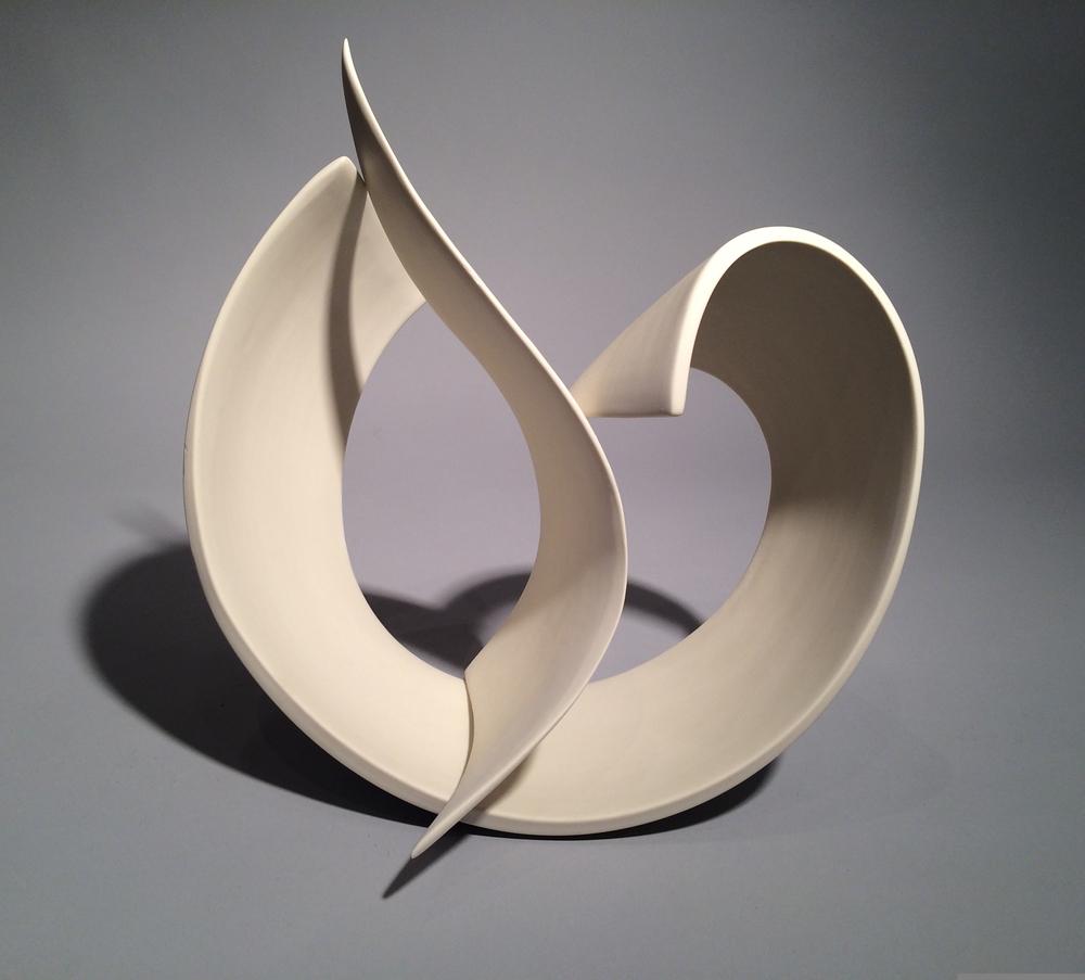 Elizabeth Kendall, Windswept, porcelain, Sherrie Gallerie