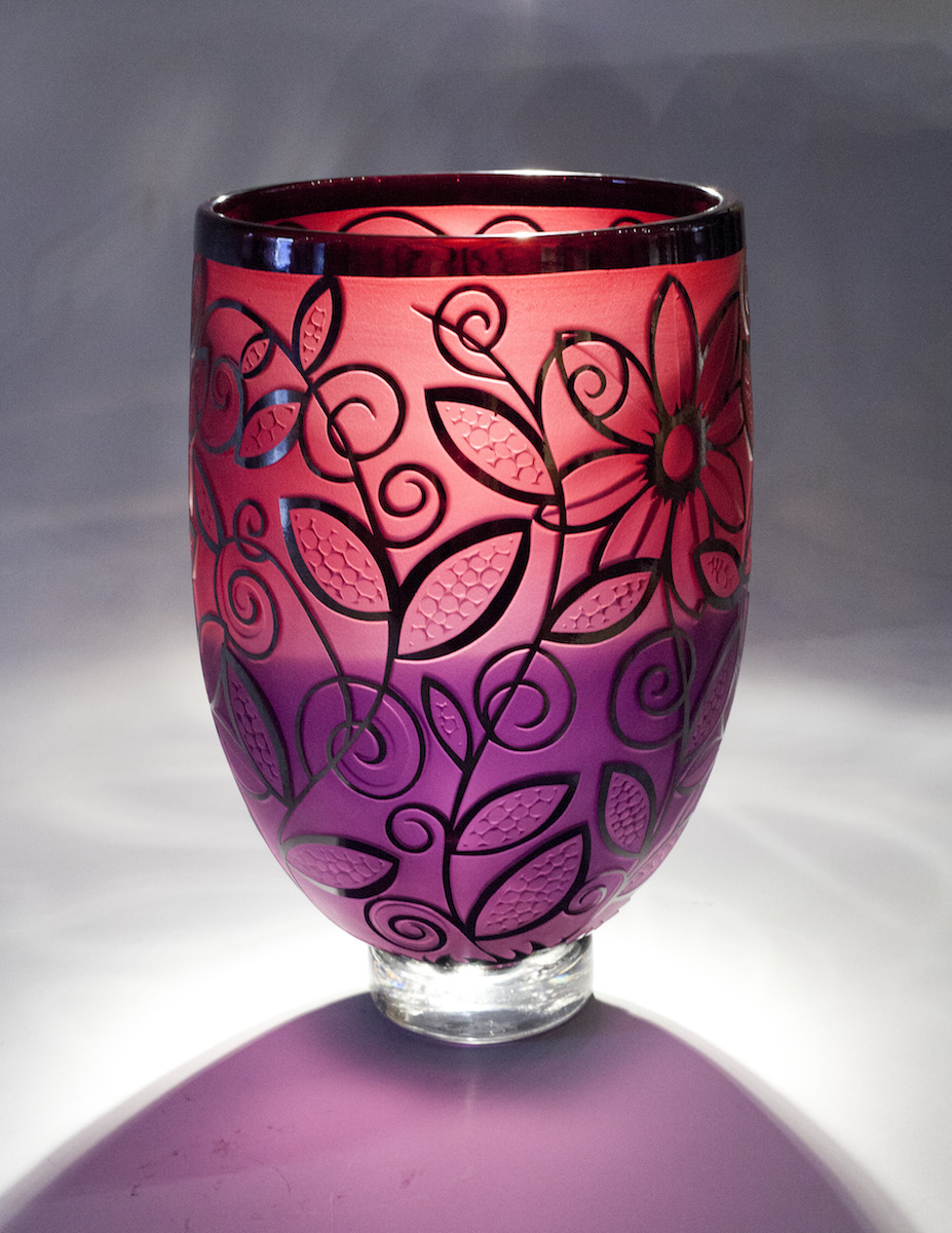 Duncan McClellan, Footed Vines, blown glass, Sherrie Gallerie