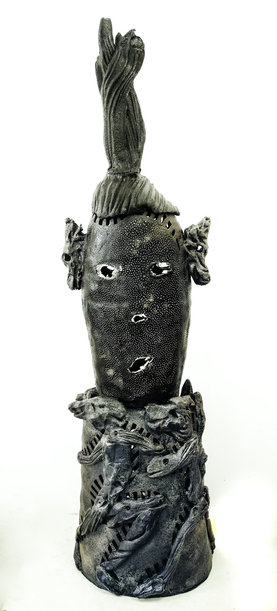 Andy Nasisse, Dark Wave, ceramic, Sherrie Gallerie