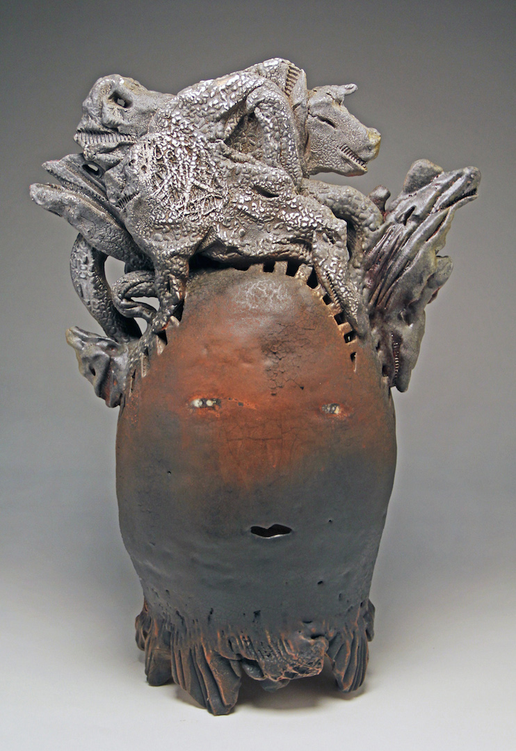 Andy Nasisse, Kachina Canyon, ceramic, Sherrie Gallerie