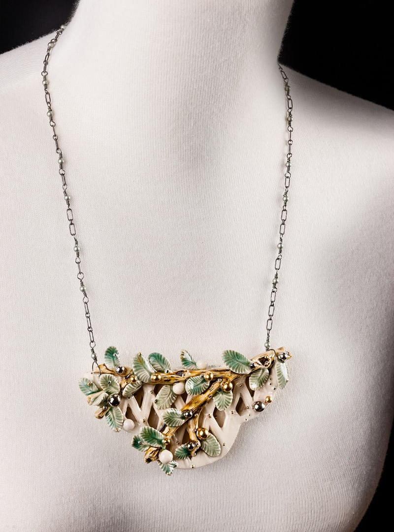 Exhibition Shell Necklace : Contemporary jewelry exhibition — sherrie gallerie