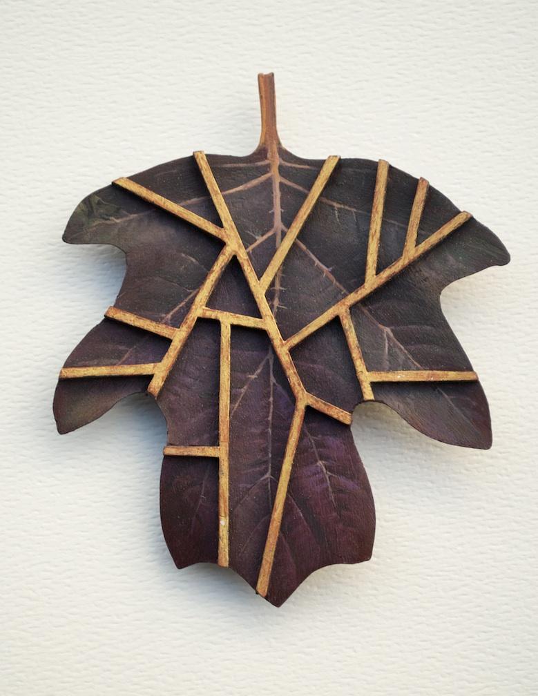 Oakleaf Hydrangea with False Vein Pattern.jpg