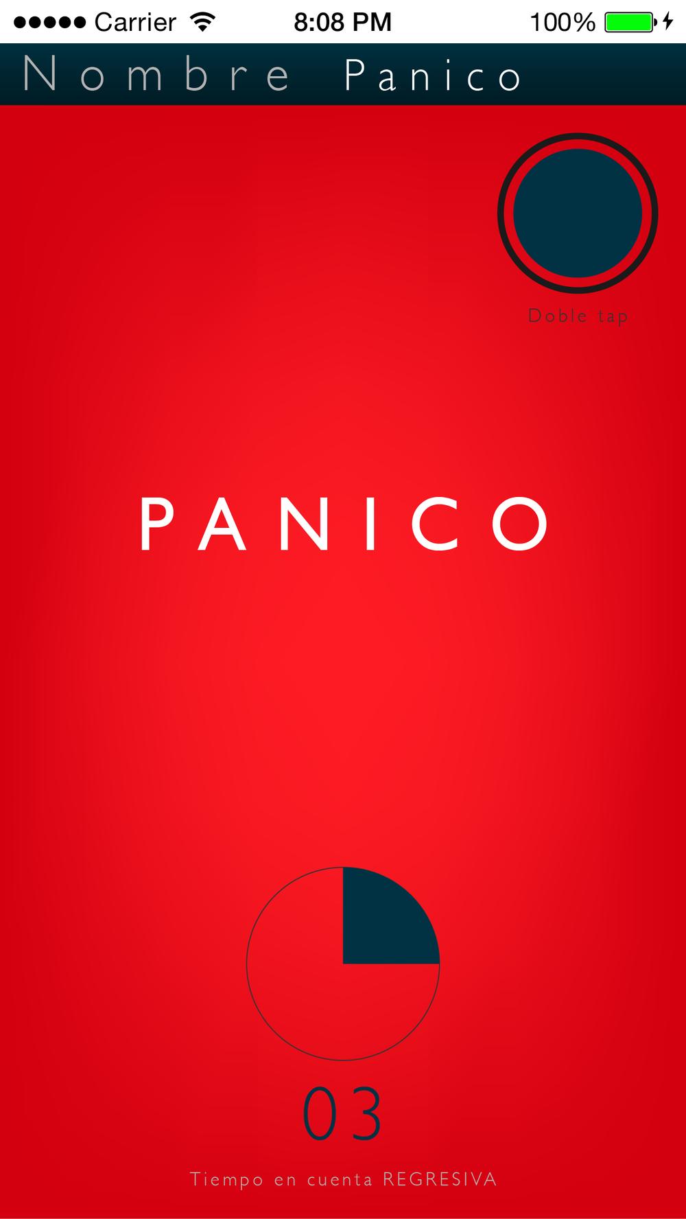 Panic Release Botton