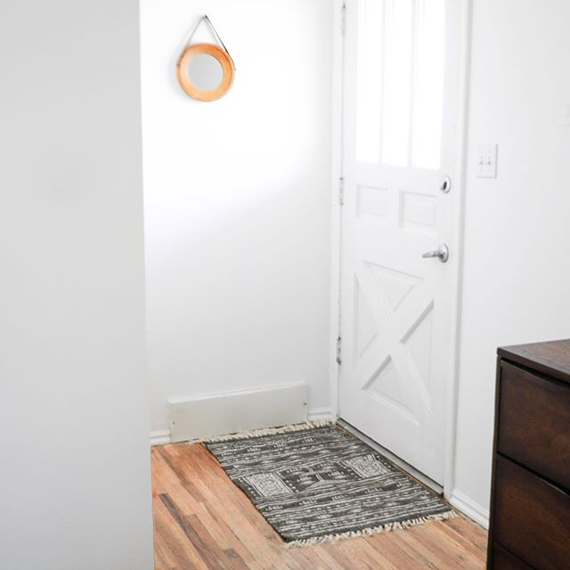 stepping in to save another entryway, the Small Bohemian rug |  find it under the objects section