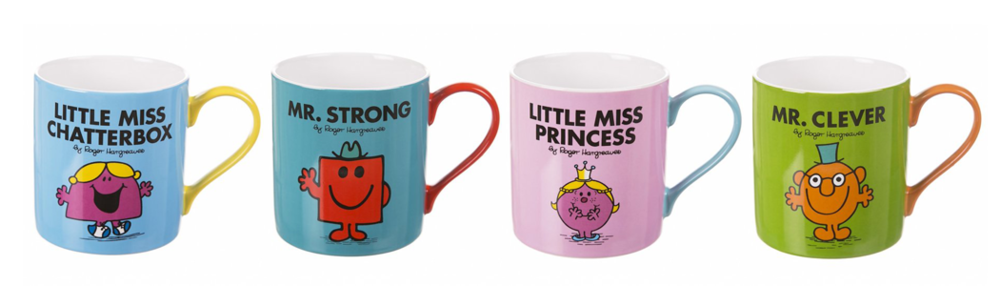 Mr. Men™ Little Miss™ Mugs