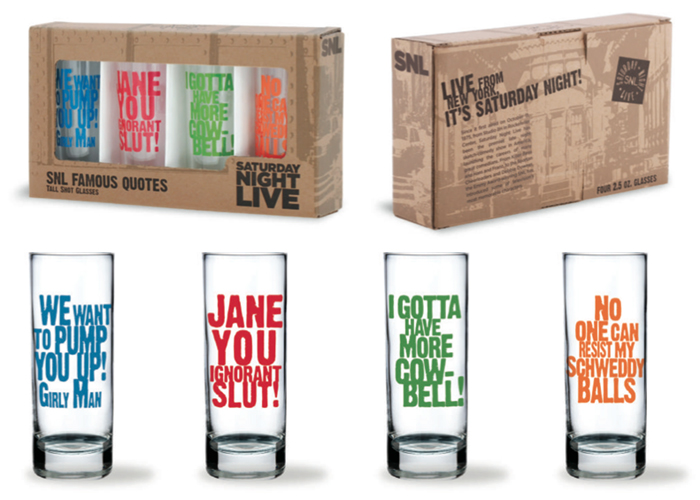 SNL Shot Glasses