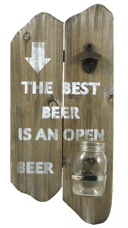 Open Beer Sign