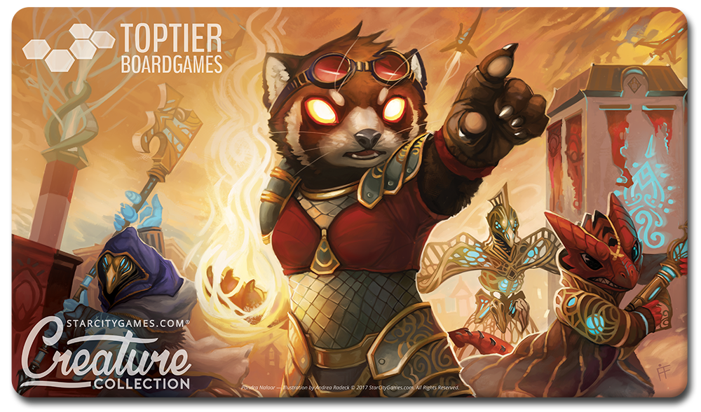 Our Creature Collection Playmat for Aether Revolt!  Available for $5 off during prereleases!