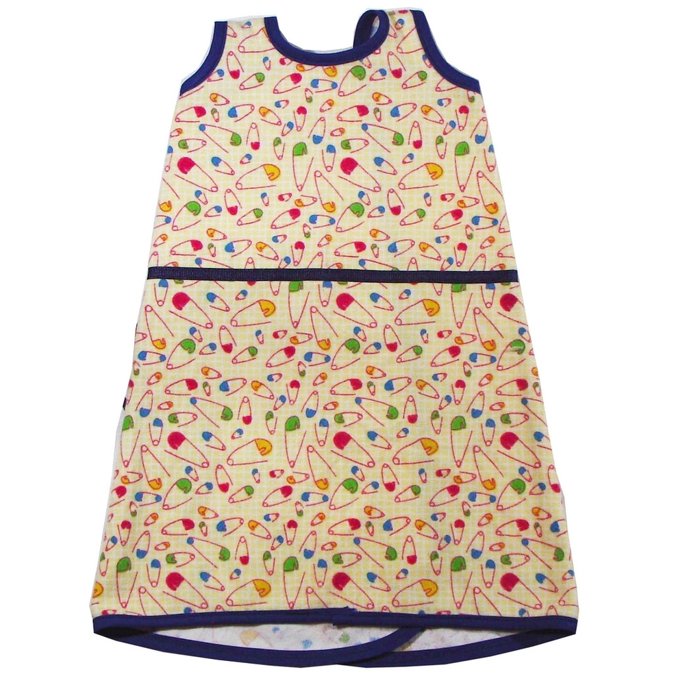 Maera Gown - Diaper Pins — Maera Preemie Clothing