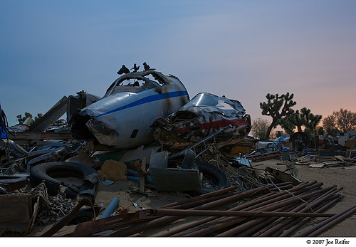 Mojave Airplane Boneyard #94 -- by Joe Reifer
