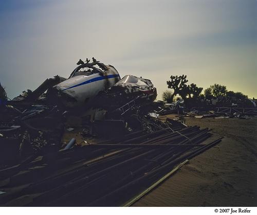 Mojave Airplane Boneyard (M7 #4) -- by Joe Reifer
