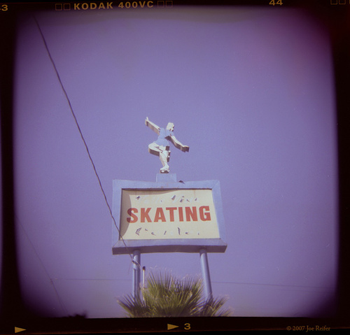 Skating -- by Joe Reifer
