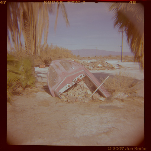 Boating (Salton Sea) -- by Joe Reifer