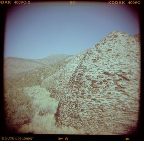 Wildrose Charcoal Kilns, Death Valley -- by Joe Reifer