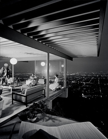 Case Study #22 -- Pierre Koenig, Architect, photo by Julius Shulman