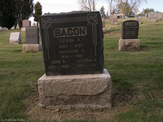 Bacon Lies Down With Lamb -- by Joe Reifer