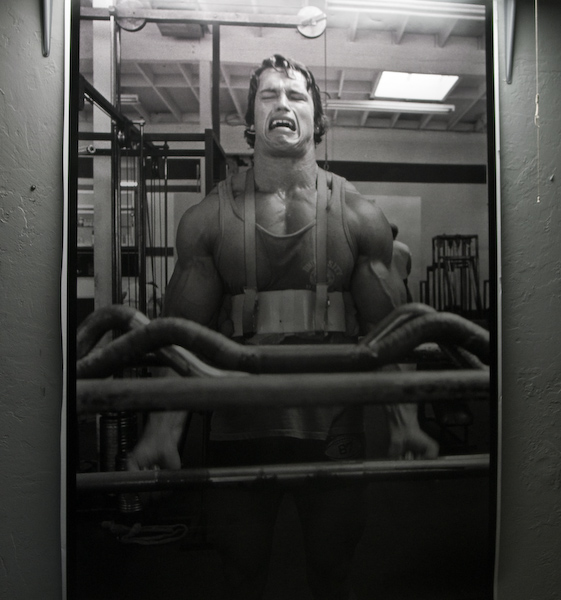 Arnold Schwarzenegger with proper print lighting