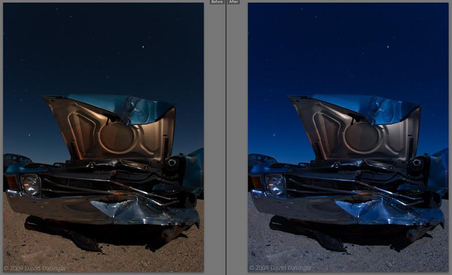 RAW Conversion Comparison -- Photo by David Dasinger