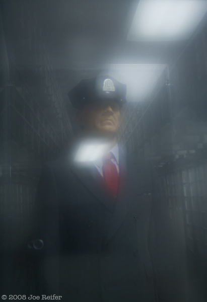 Alcatraz Guard -- Lensbaby Composer with Zone Plate Optic on Canon 5D, ƒ/19, 4 seconds, ISO 200