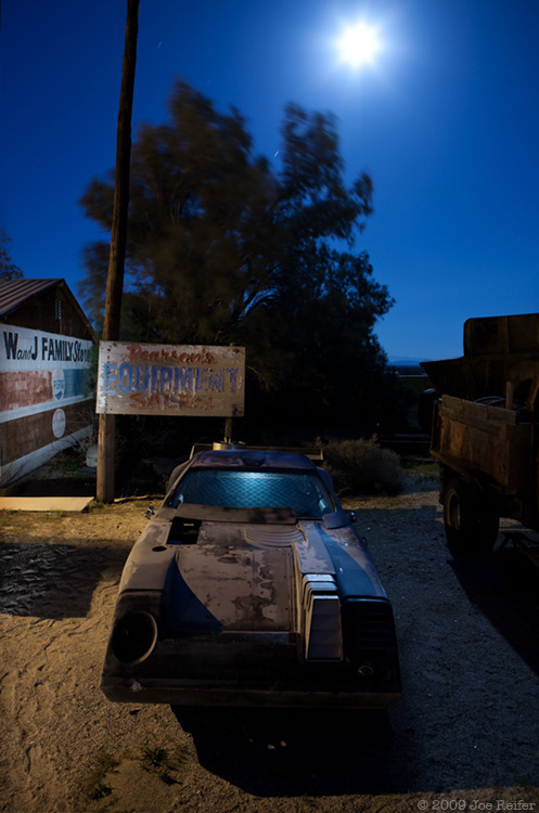 Knight Rider 2010: Moonrise Over Pearsonville -- by Joe Reifer