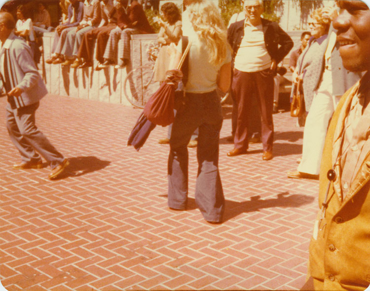Powell Street Plaza, San Francisco, 8-30-1978