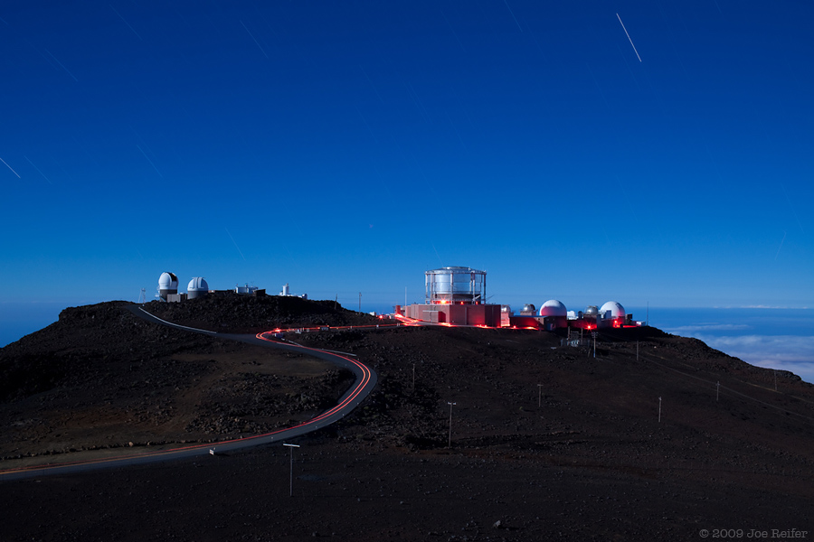 Haleakala Observatory -- by Joe Reifer