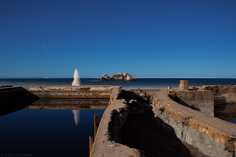 Sutro Baths (Haunted) -- by Joe Reifer