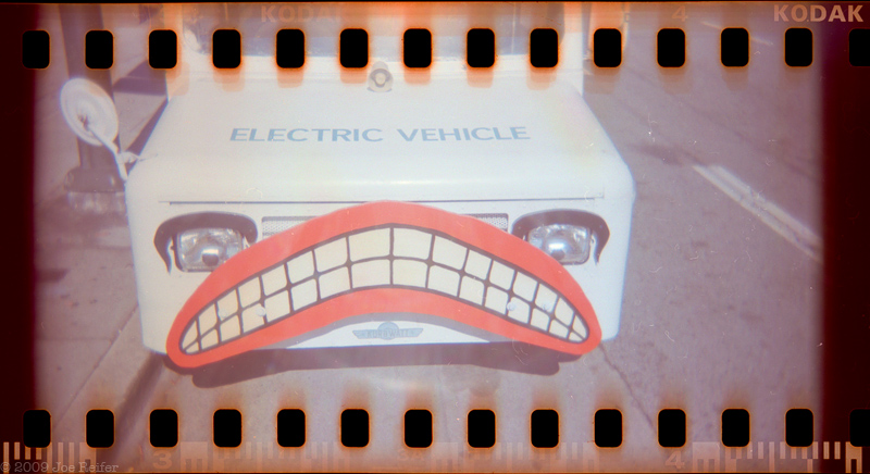 Electric Vehicle (Smile) -- by Joe Reifer