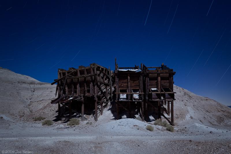 Tecopa Ore Bins -- by Joe Reifer