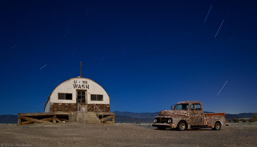 Tecopa Laundromat (U * We * Wash) -- by Joe Reifer