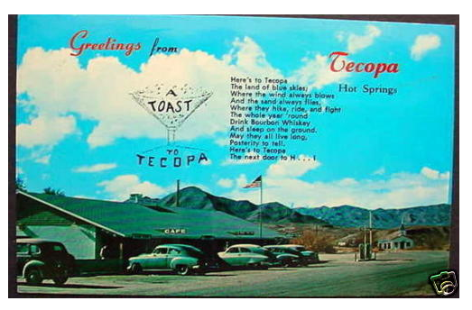 A Toast to Tecopa