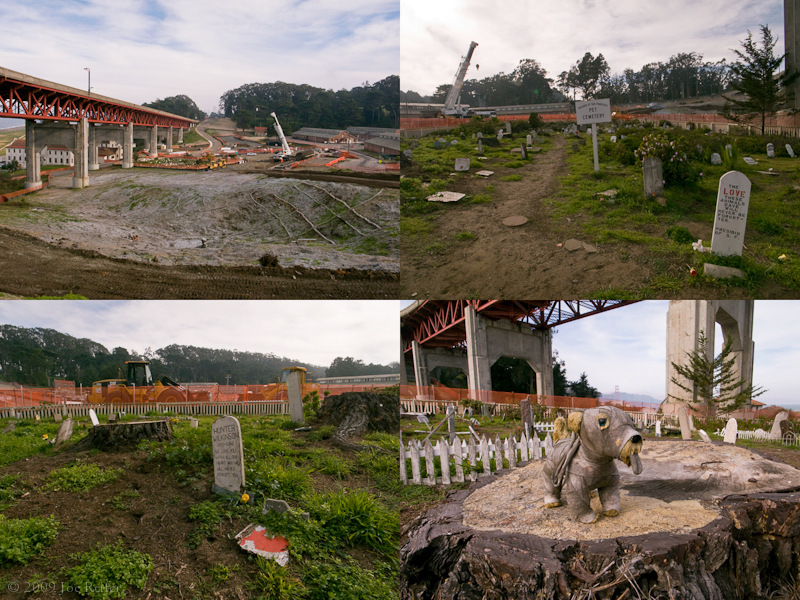 San Francisco Pet Cemetery Tetratypch -- by Joe Reifer