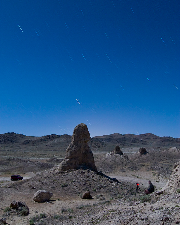 Joe Reifer at Trona Pinnacles -- by Troy Paiva