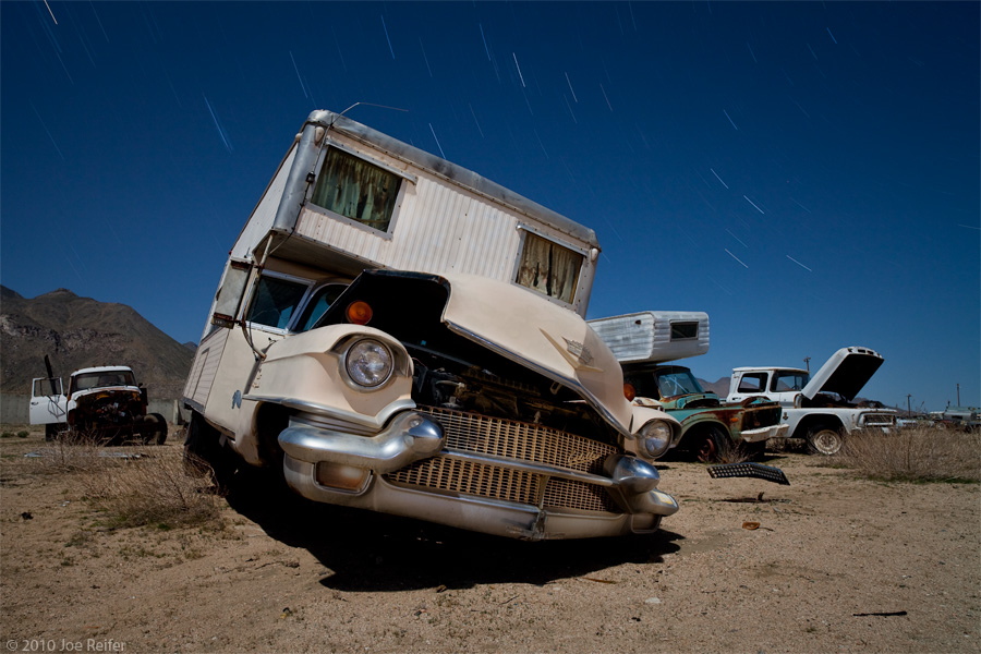 Cadillac camper redux -- by Joe Reifer