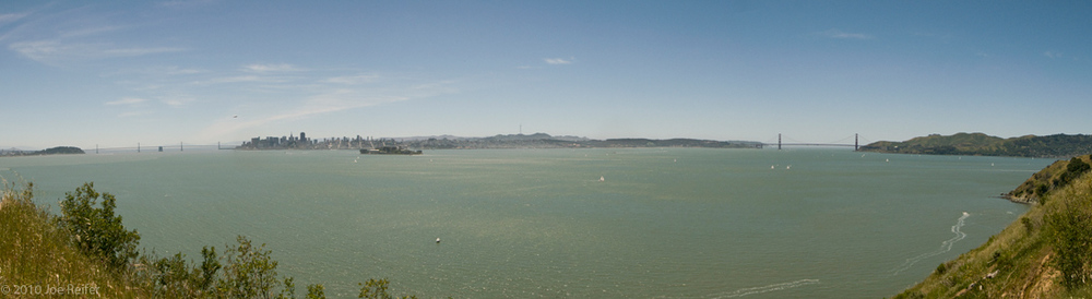 Angel Island Panorama -- by Joe Reifer