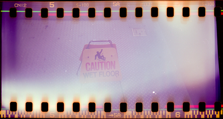 Caution, Wet Floor -- by Joe Reifer