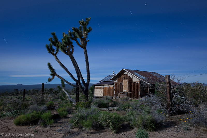 Welcome home (Mojave mining ruins) -- by Joe Reifer