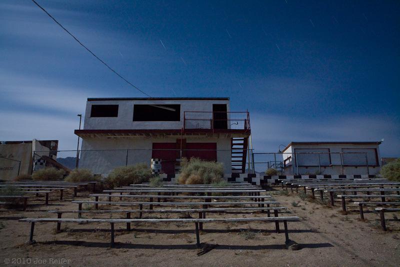 Pearsonville Dirt Track Grandstands -- by Joe Reifer