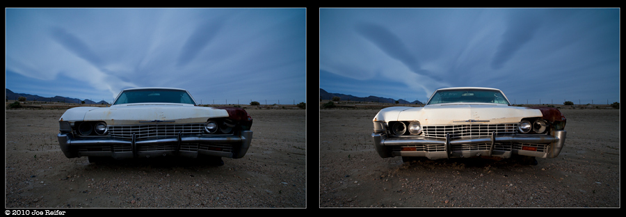 Light painting comparison -- by Joe Reifer