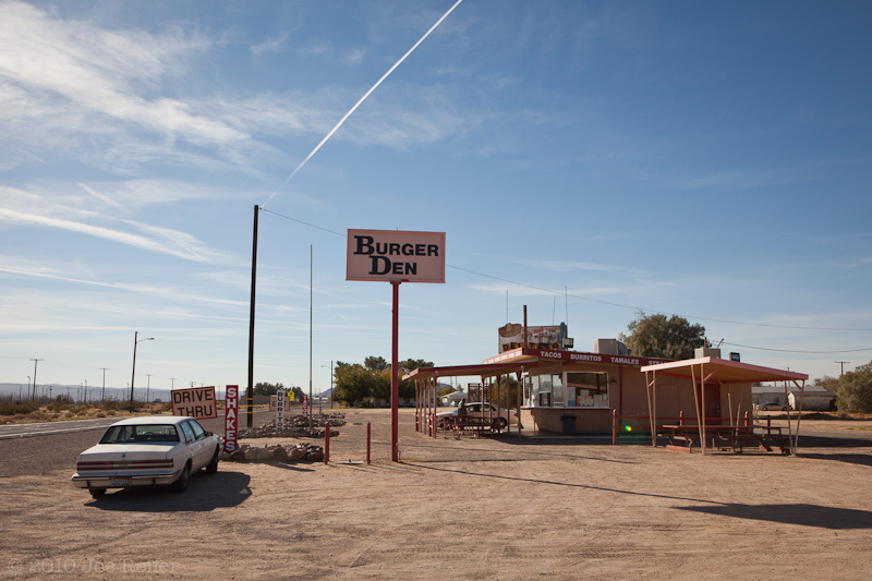Burger Den, Yermo (the original Del Taco) -- by Joe Reifer