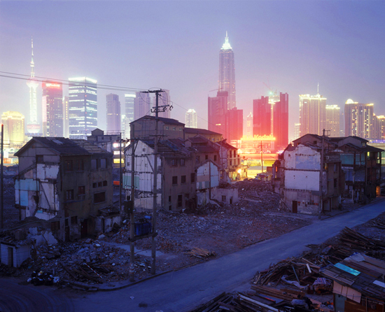 Neighborhood Demolition, Fangbang Lu, 2006 -- by Greg Girard
