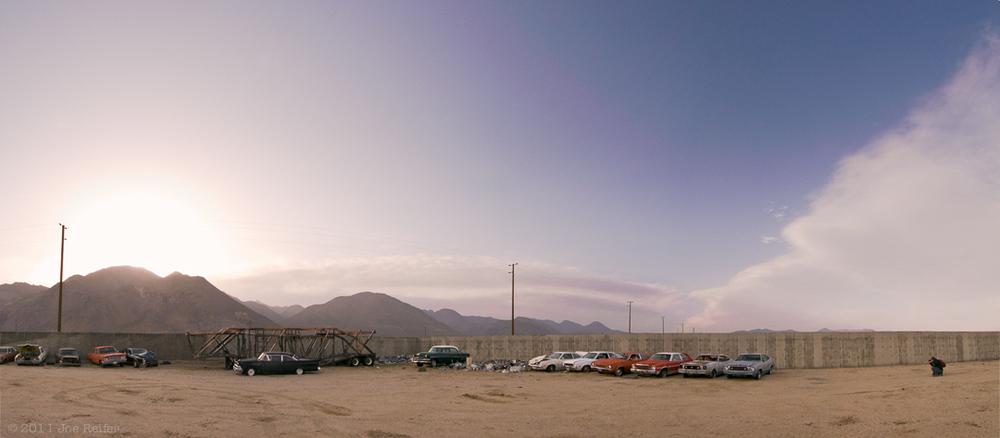 Pearsonville Sunset Panorama -- by Joe Reifer