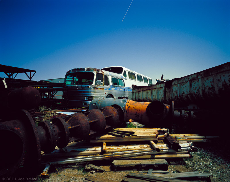 Paul's Junkyard Magic Bus -- by Joe Reifer