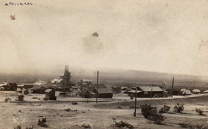 Atolia tungsten mine in 1908