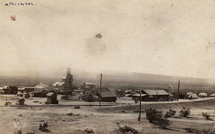 Atolia tungsten mine in 1908