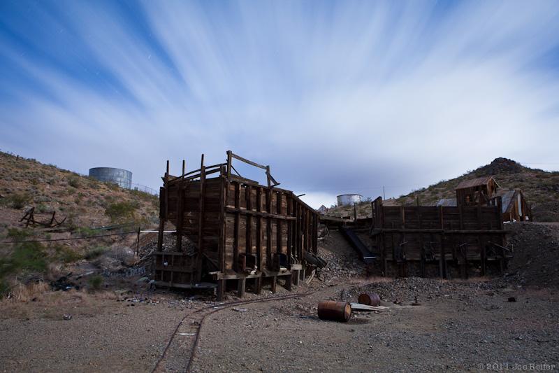 Randsburg mining ruins -- by Joe Reifer