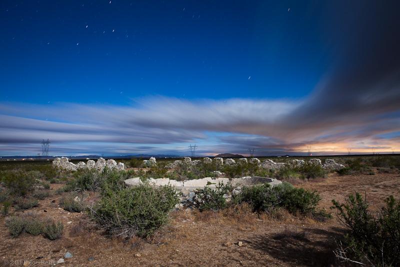 LLano Del Rio ruins -- by Joe Reifer