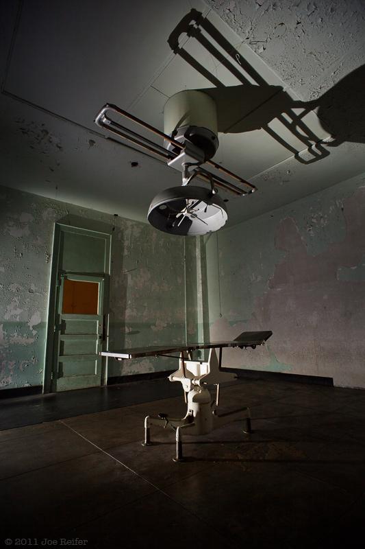 Alcatraz hospital operating room -- by Joe Reifer
