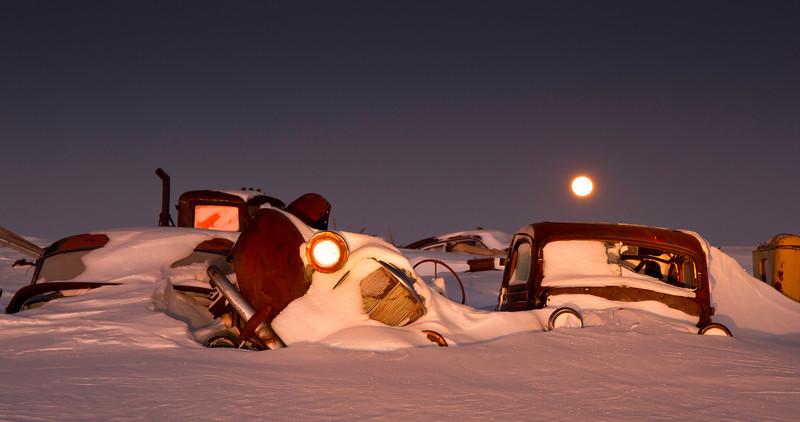 Bad Moon Rising -- by David J. Lewis